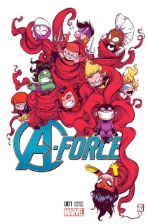 A-Force #1 (Young Cover)