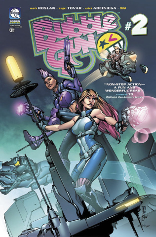 BubbleGun #2 (Konat Cover)