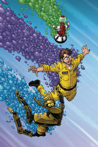 Mystery Science Theater 3000 #2 (Nauck Cover)