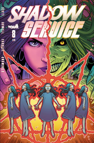 Shadow Service #8 (Isaacs Cover)