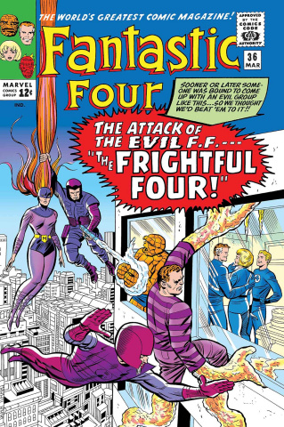 Fantastic Four: The Frightful Four #1 (True Believers)