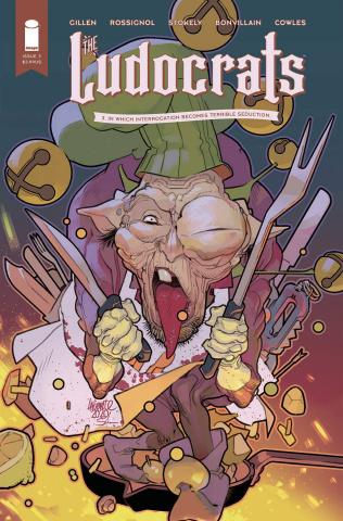 The Ludocrats #3 (Lafuente Cover)