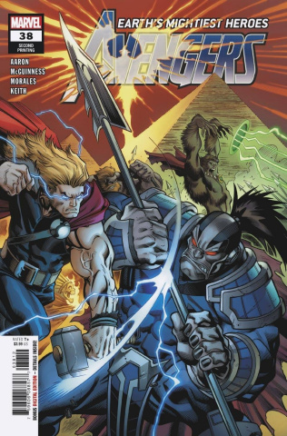 Avengers #38 (2nd Printing)