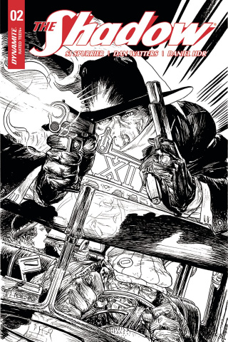 The Shadow #2 (40 Copy Kaluta B&W Cover)