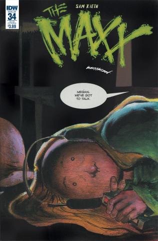 The Maxx: Maxximized #34 (Subscription Cover)