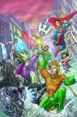 Justice League #16 (Foss Cover)