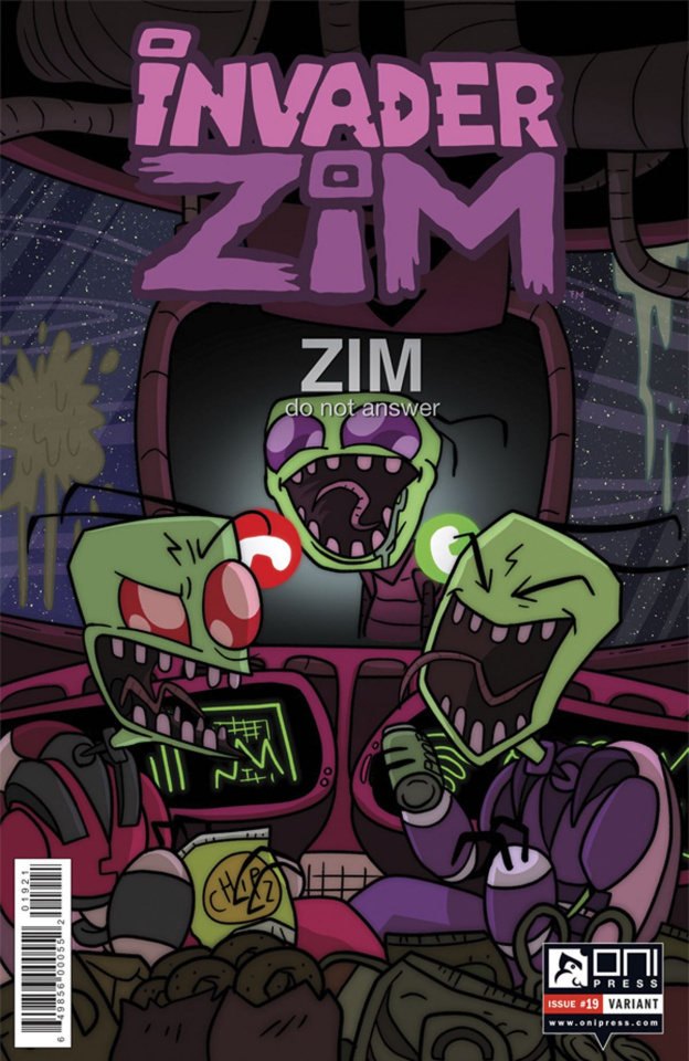 Invader Zim #19 (Green Cover)