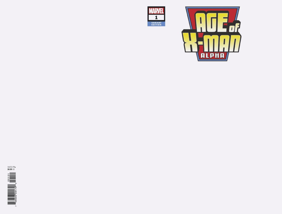 Age of X-Man: Alpha #1 (Blank Cover)