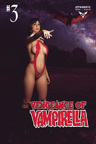 Vengeance of Vampirella #3 (Cosplay Cover)