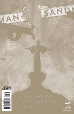 The Sandman: Overture #5 (Special Ink Cover B)