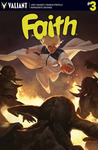 Faith #3 (Kevic-Djurdjevic Cover)