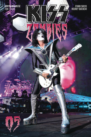 KISS: Zombies #5 (Photo Cover)