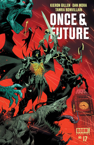Once & Future #17 (Mora Cover)