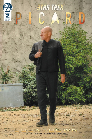 Star Trek: Picard #2 (10 Copy Photo Cover)