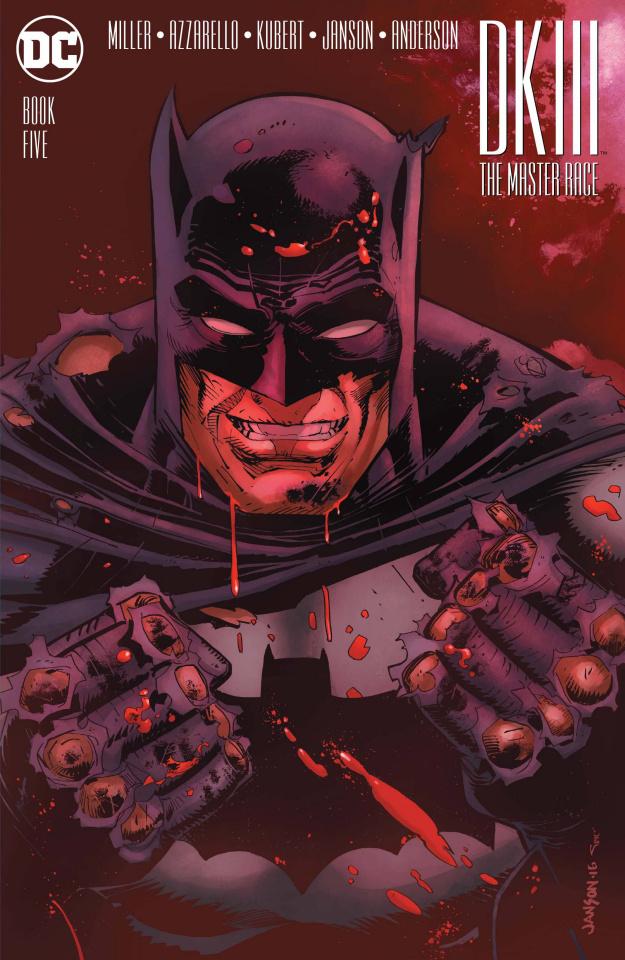 Dark Knight III: The Master Race #5 (Janson Cover)