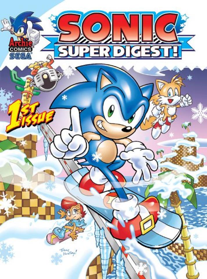 Sonic Super Digest #1