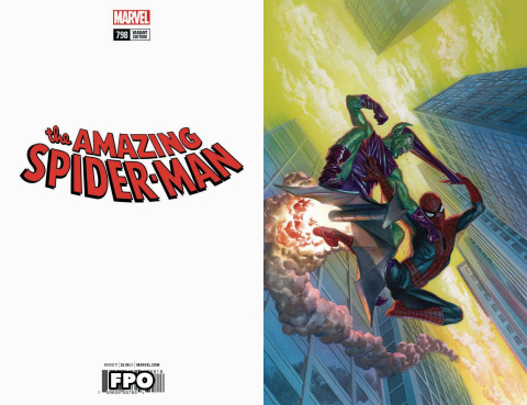 The Amazing Spider-Man #798 (Alex Ross Virgin Cover)