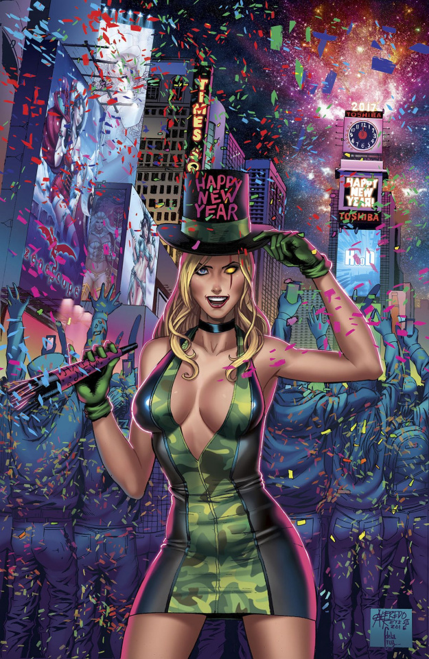 Grimm Fairy Tales: Robyn Hood - I Love NY #8 (Reyes Cover)