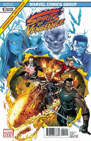 Spirits of Vengeance #1 (2nd Printing Lashley Cover)