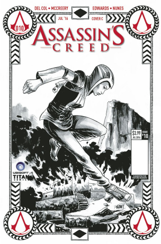 Assassin's Creed #10 (Gorham Cover)