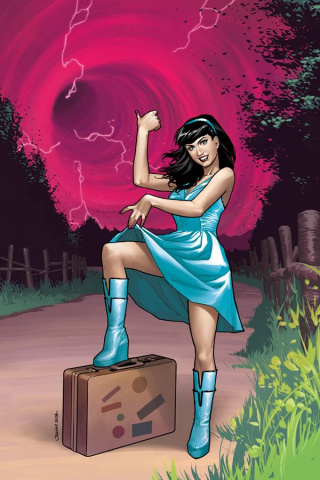 Bettie Page: Unbound #1 (5 Copy Ohta Virgin Cover)