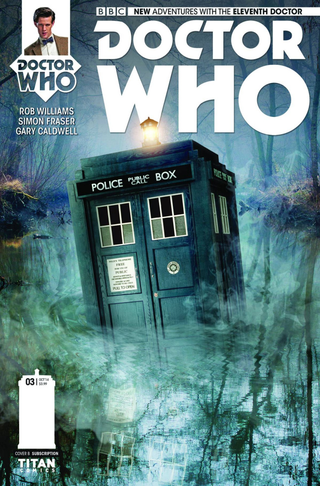 Doctor Who: New Adventures with the Eleventh Doctor #3 (Subscription Cover)