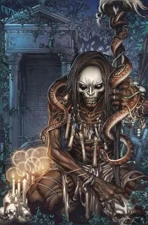 Spirit Hunters #9 (Tolibao Cover)
