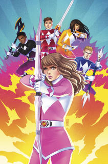 Mighty Morphin' Power Rangers: Pink #6 (50 Copy Bartel Cover)