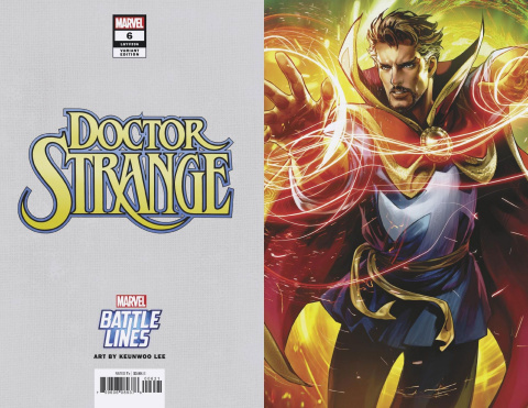 Doctor Strange #6 (Sujin Jo Marvel Battle Lines Cover)