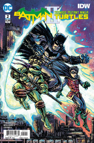 Batman / Teenage Mutant Ninja Turtles II #2 (Variant Cover)