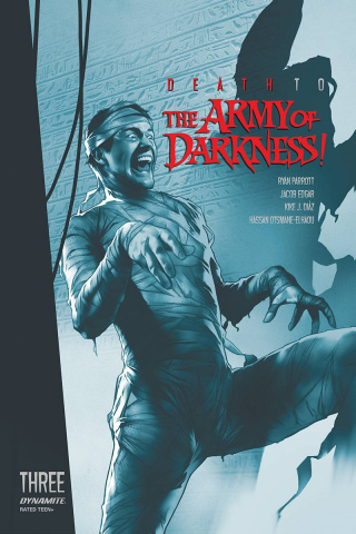 Death to the Army of Darkness #3 (21 Copy Oliver Tint Cover)