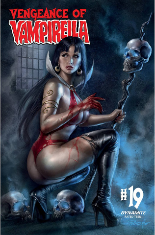 Vengeance of Vampirella #19 (Parrillo Cover)
