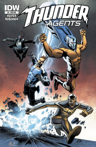T.H.U.N.D.E.R. Agents #6 (Subscription Cover)