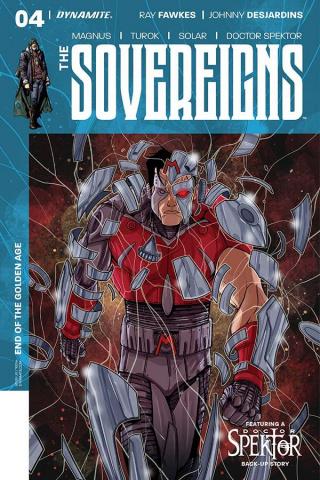 The Sovereigns #4 (Medri Cover)