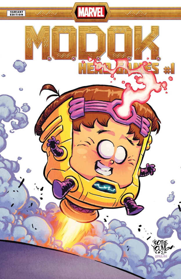 M.O.D.O.K.: Head Games #1 (Young Cover)
