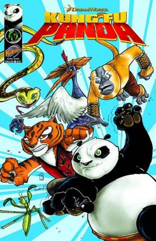 Kung Fu Panda Digest Vol. 1: Kung Fu Crew