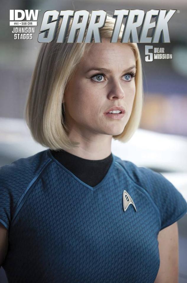 Star Trek #41 (Subscription Cover)
