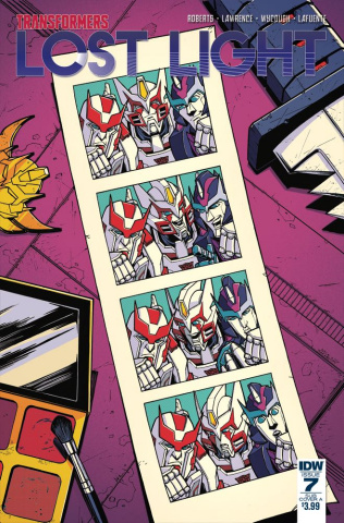 The Transformers: Lost Light #7 (Subscription Cover)