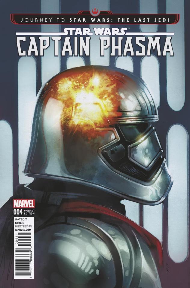 Journey to Star Wars: The Last Jedi - Captain Phasma #4 (Reis Cover)