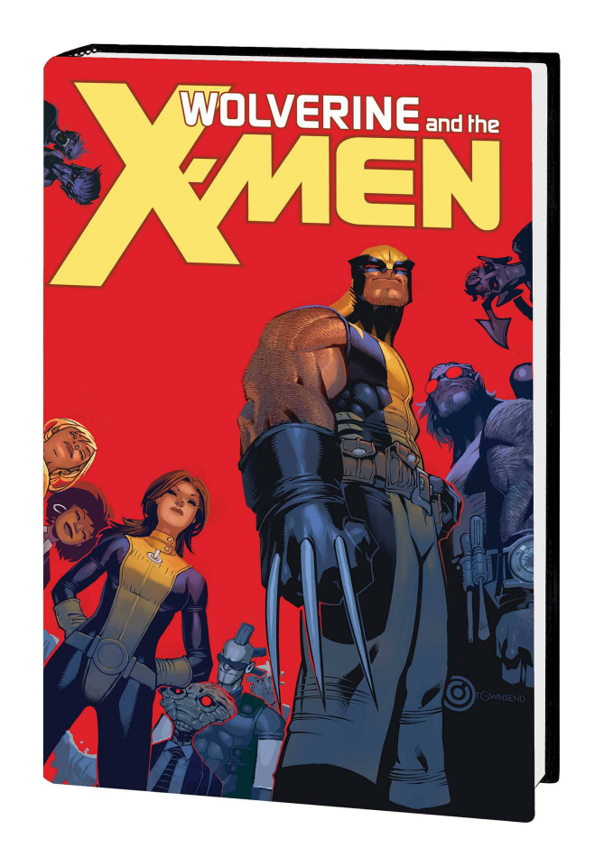 Wolverine and the X-Men by Jason Aaron (Omnibus Bachalo Cover)