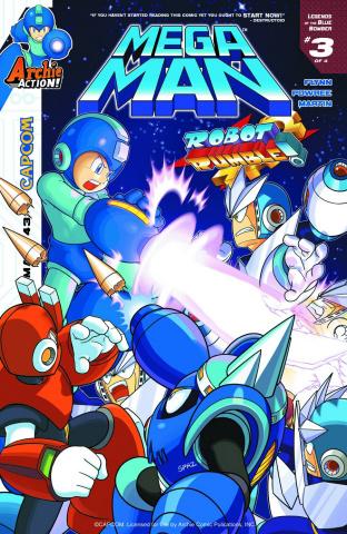 Mega Man #43