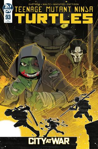 Teenage Mutant Ninja Turtles #93 (10 Copy Duncan Cover)