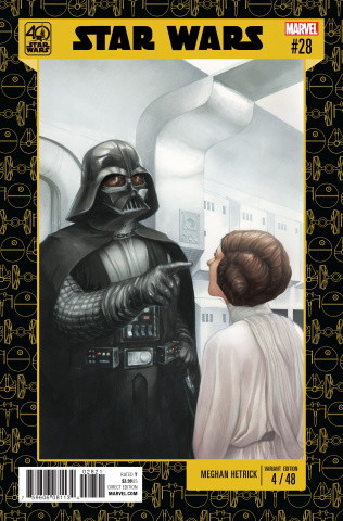 Star Wars #28 (Star Wars 40th Anniversary Cover)