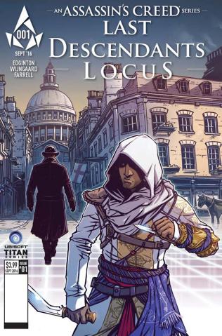 Assassin's Creed: Last Descendants - Locus #1 (Wijngaard Cover)