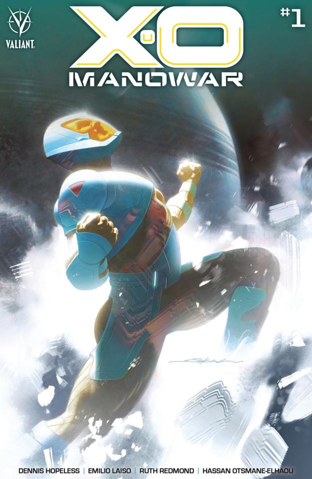 X-O Manowar #1 (Dekal Cover)