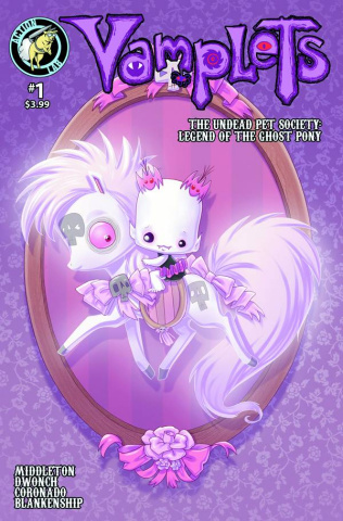 Vamplets: The Undead Pet Society #1 (Middleton Cover)
