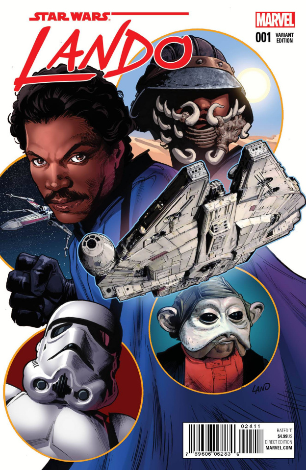 Star Wars: Lando #1 (Land Cover)
