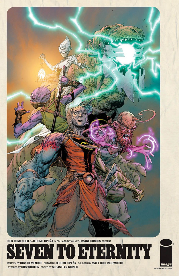 Seven to Eternity #3 (Opena & Hollingsworth Cover)