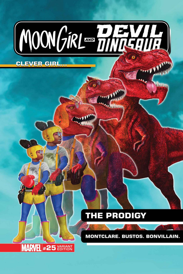 Moon Girl and Devil Dinosaur #25 (Morphing Cover)