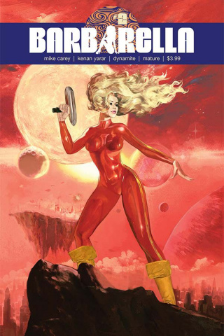 Barbarella #2 (Dalton Cover)